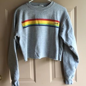 J. Galt Cropped Sweatshirt